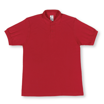 Polo Shirt kurzarm rot Gr. XL